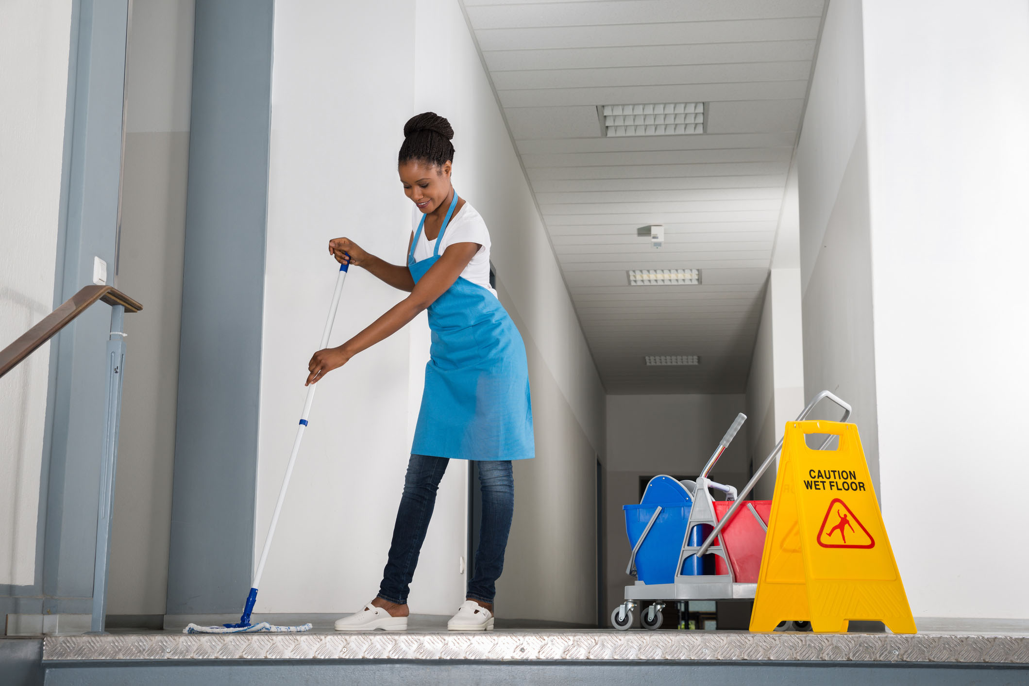 Janitorial Cleaning Services - Clean Warehouse